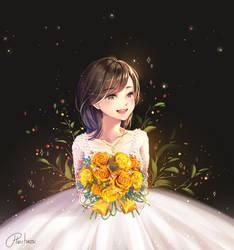 Shining bride by hieihirai