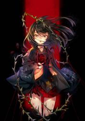 Rose and Thorn by hieihirai