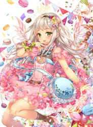 Magical Girls: Macaron by hieihirai