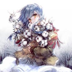 Winter cotton by hieihirai