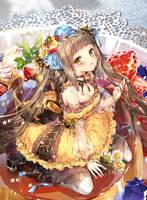 Magical Girls: Flan by hieihirai