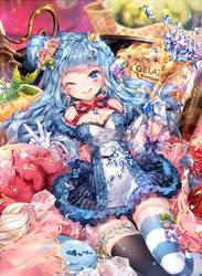 Magical Girls: Gelato by hieihirai