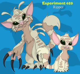Ripper, Experiment: 489 by pandora-dragon