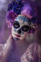 Sugar Skull by DarkVenusPersephonae