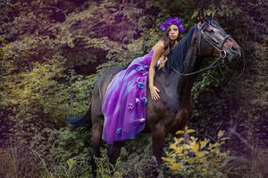 Dark horse by DarkVenusPersephonae