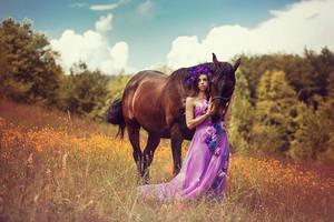 Horse whisperer II by DarkVenusPersephonae