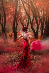 Scarlet Dragoness by DarkVenusPersephonae