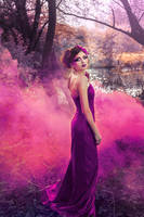 Purple mist by DarkVenusPersephonae