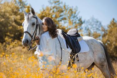 Horse Whisperer by DarkVenusPersephonae