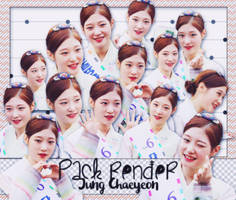 [160714] [PACK RENDER ] JUNG CHAEYEON - I.O.I/DIA by LuHannie1071999