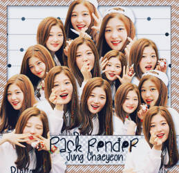 [160715] [PACK RENDER ] JUNG CHAEYEON - I.O.I/DIA by LuHannie1071999