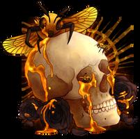 Honeybee (SPEEDPAINT+MERCH!) by kitty-skeleton