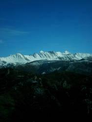 Snowy Peaks by Beautiful-Rose