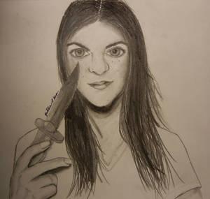 Knife Girl by mewpearl