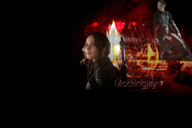 Mockingjay Text Wallpaper by mewpearl