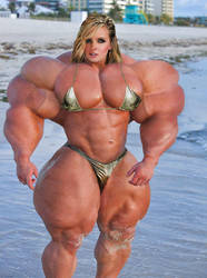 Massive Beach Muscles by hlol123