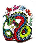 Damn Serpent, Stupid Mice by scottkaiser