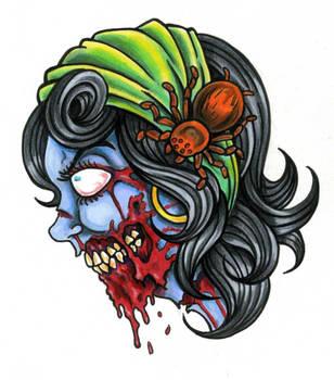 Gypsy Zombie by scottkaiser