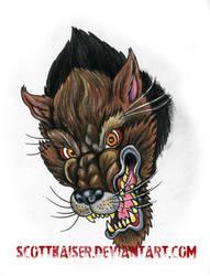 Werewolf by scottkaiser