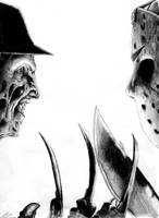 Freddy Vs. Jason by UBob