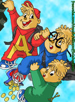 Alvin and the Chipmunks by UBob