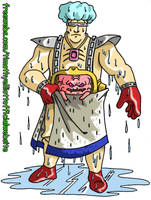 Bath Time Krang by UBob