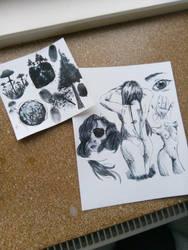 I found some ink... by CherryTats