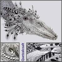 Quetzalcoalt by hippogriffon