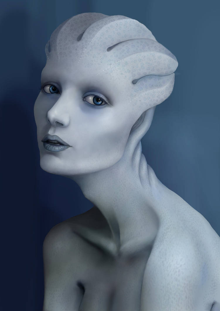 Random Asari By Lesard On Deviantart