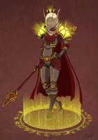 Sin'dorei Blood Knight by pokketmowse
