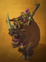 Goblin Hunter by pokketmowse