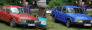 Saab 900i Digimod by Warpfuz