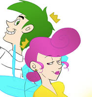 WIP: Cosmo and Wanda by acpadilla