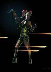 Multi-core Plasma Defence Force - Luminous Flux by Jacob-Digital-Art