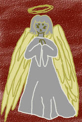 Christmas angel by RosemaryBrooke