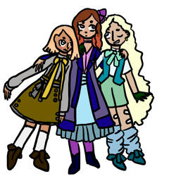 Deborah, May, and June Trio by RosemaryBrooke