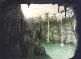 the cave by queenofeagles