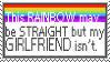 GLBT - Girlfriend Stamp by SilentReflections