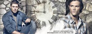 Supernatural (Banner for timeline) by Nadin7Angel
