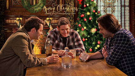 Merry Supernatural Christmas! by Nadin7Angel
