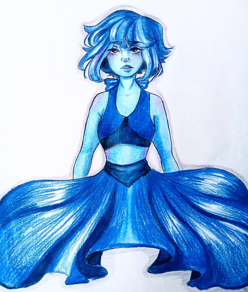 This time I change the title xd Hope you like it! Lapis is really pretty <3