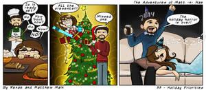 Adventures of Matt -n- Nae #33 - Holidays by TheEvilNae
