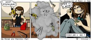 Adventures of Matt -n- Nae #46 - Victory!...? by TheEvilNae