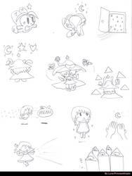 Weird weird dreams by LunaPrincessNinjato