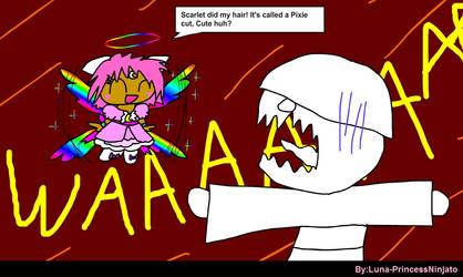 Reaction to a pixie cut by LunaPrincessNinjato