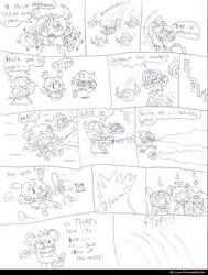 FairyAngel Wars Phase 2 battle storyboard by LunaPrincessNinjato