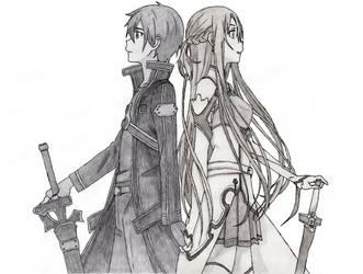 Real Feelings (Kirito and Asuna) by CaptainGhostly