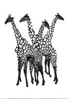 Giraffes 2 by Scuroen