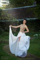 white dress by xxbone