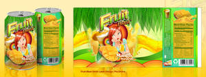 fruit blast drink label by Chili-icecream